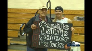 Posen's Cami LaTulip Hits The 1,000 Career Points Landmark