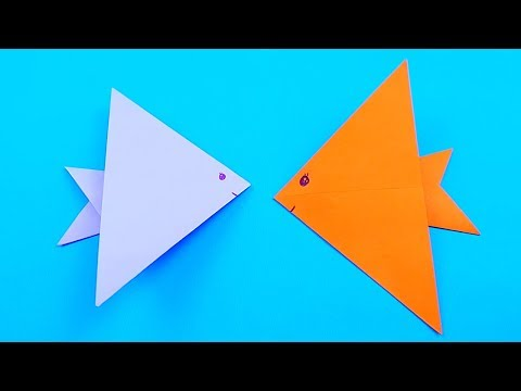 How To Make Paper Fish | Origami Fish | Easy Origami Tutorial