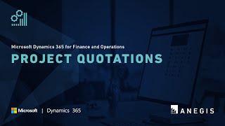 Dynamics 365 Operations: Project Quotations