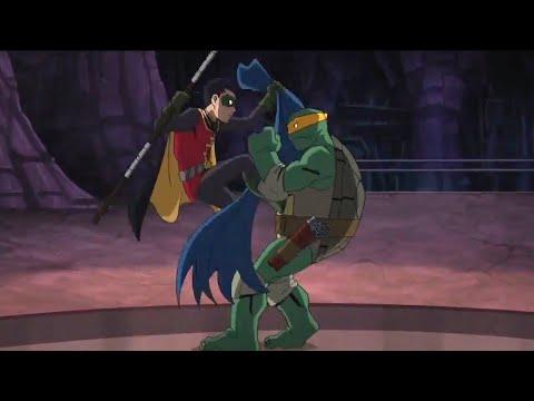 Robin (Damian) Vs TMNT | Batman vs. Teenage Mutant Ninja Turtles