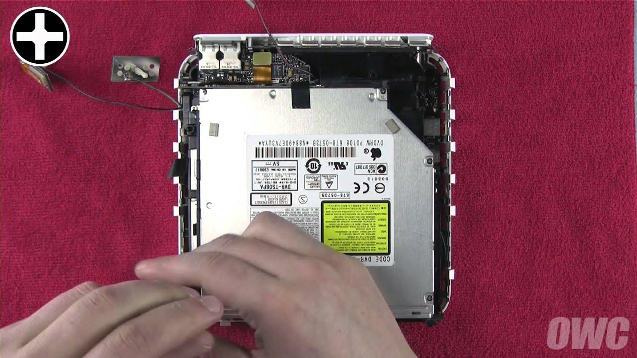 Mac mini 2009 Hard Drive/SSD Installation Video - YouTube