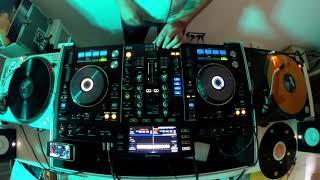 DJ FRE4K TESTING PIONEER XDJ RX & TECHNICS 1200/1210 Vinyl Dj Set