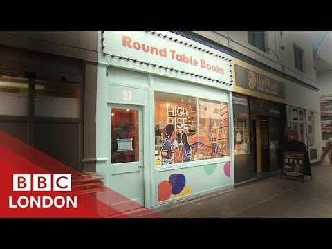 Why This Bookshop Is Selling 'the One Percent' - BBC London
