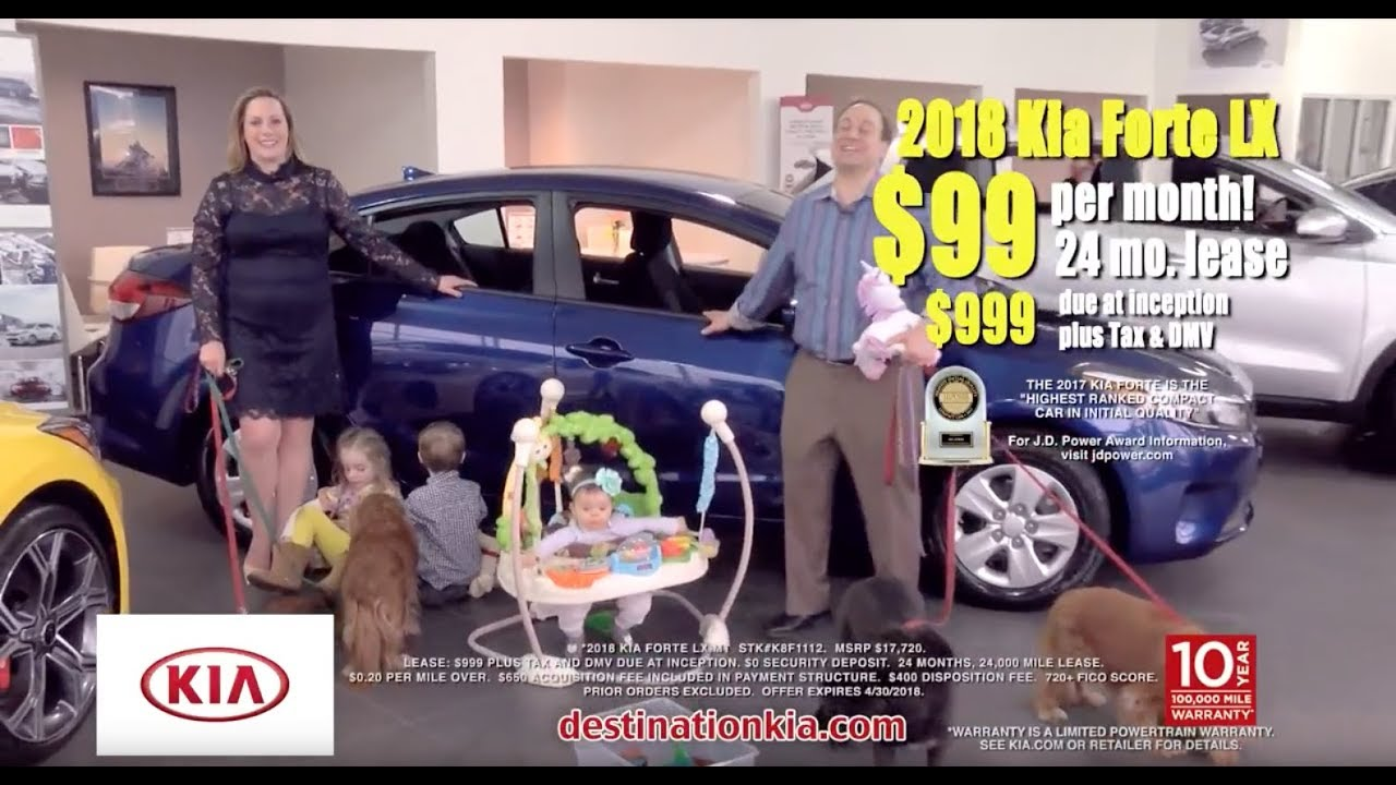 New 2018 Kia Forte Special Lease Offer 99 Mo Only 999 Down Destination 12206