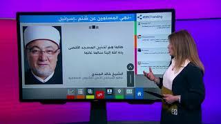 """بي_بي_سي_ترندينغ: """"شتم إسرائيل محرم""""...تصريح لشيخ مصري يثير ضجة"""