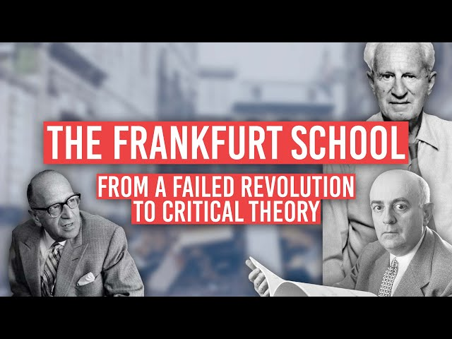 The Frankfurt School: WTF? Horkheimer, Adorno and Critical Theory Explained | Tom Nicholas