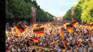 Schwarz und Weiß Deutschland 54, 74, 90, 2014
