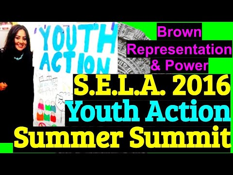 Citlalli speaks at Youth Ej/Youth Action Summer Summit 2016