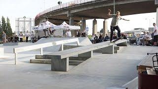 Eerste Sessie Skateplaza Dordrecht