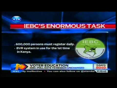 Voter education Launch