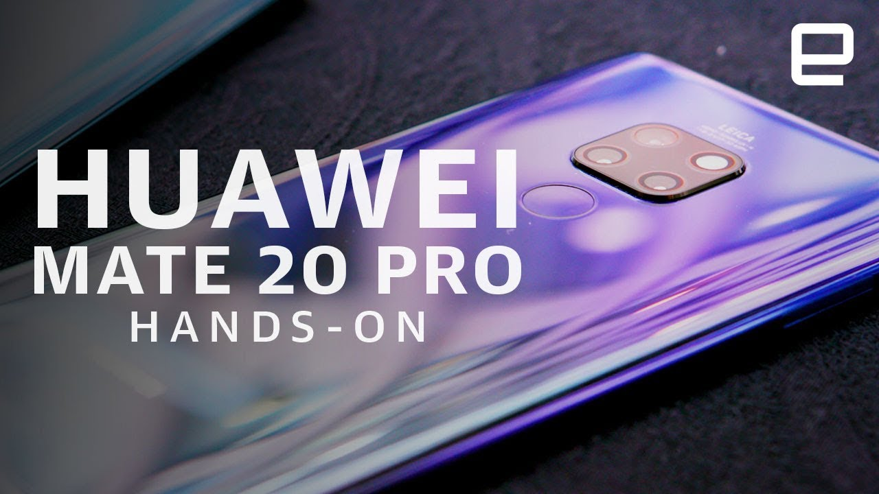 Photo of Huawei Mate 20 & Mate 20 Pro Hands-On – هواوي
