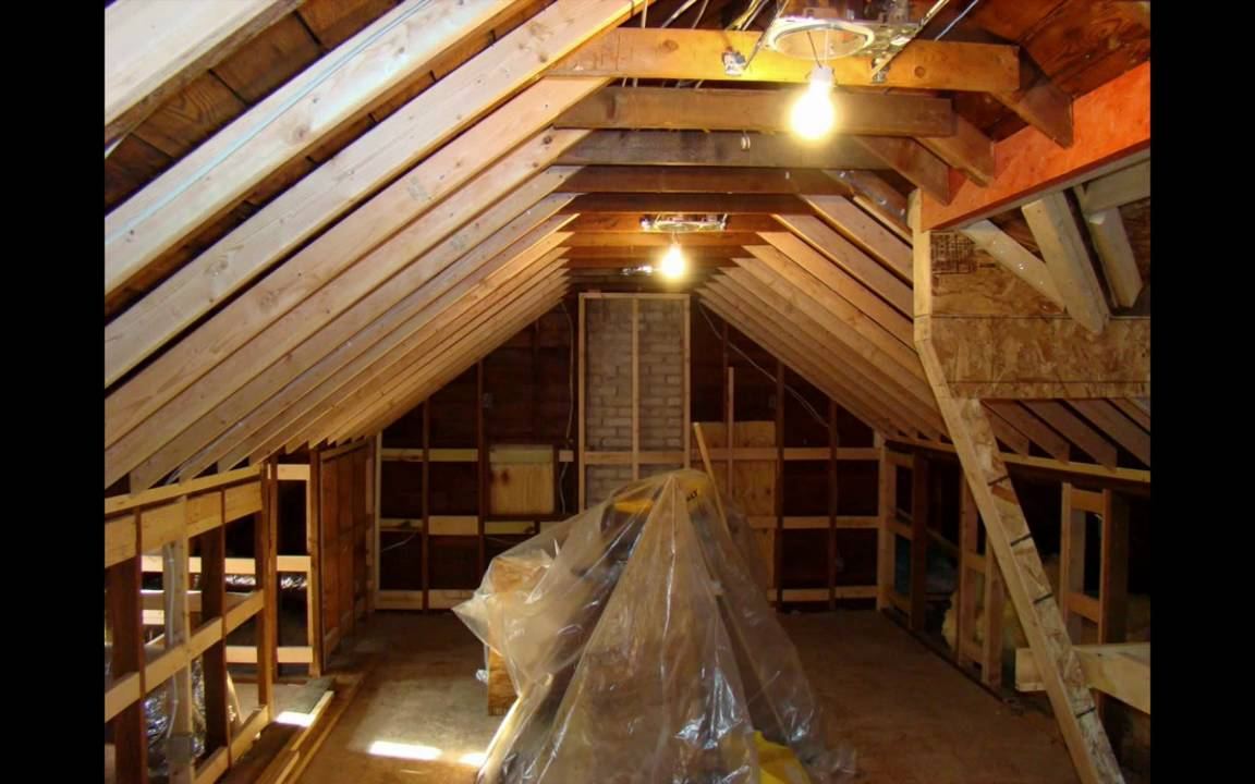Attic Remodel with Dormer - YouTube