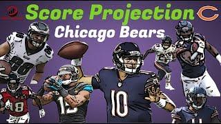 Fantasy Football 2018 - Score Projection Chicago Bears