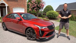 Is the 2022 Cadillac CT4-V Blackwing a BETTER sport sedan than an Audi RS3?