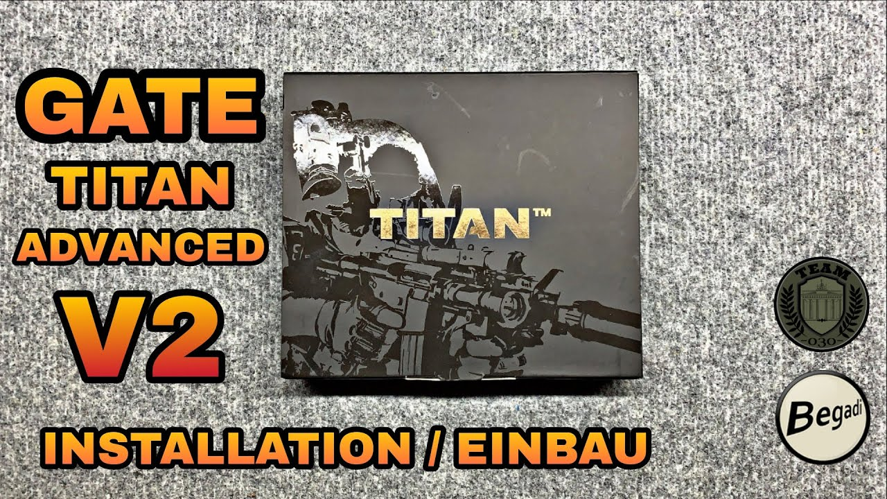 [HOW-TO] GATE TITAN Advanced Einbau/Techvideo