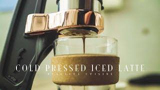 Cold Pressed Iced Latte ☆ コールドプレスアイスラテの作り方