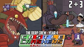 Wedding Crashers + I HATE SOCK PUPPETS! (Castle Crashers: Year 4 - Part 2 + 3) thumbnail