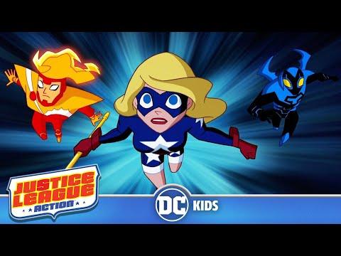 Justice League Action em Português  Liga da Justiça Nova   DC Kids