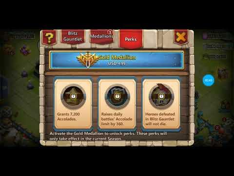Blitz Gauntlet (Explained Read Description Below Also😁) Part 1of 3 Castle Clash