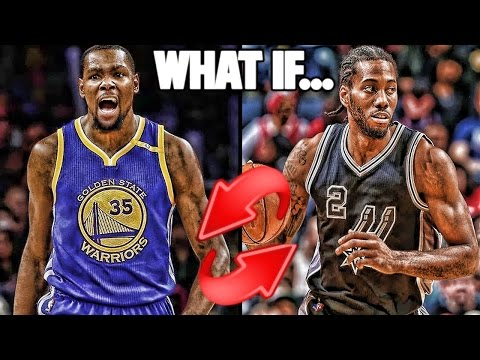 What if Kevin Durant and Kawhi Leonard Switched Teams? NBA 2K17 MYLEAGUE