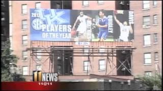 Louisville fans feeling blue over billboards   WHAS11 com Louisville