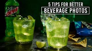 5 Tips for Better Beverage Photos with Steve Giralt
