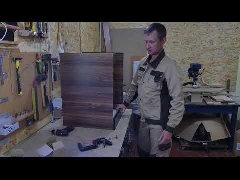Как собрать шкафчик под духовку. Мебель своими руками.