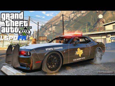 LSPDFR #546 TEXAS DPS!! (GTA 5 REAL LIFE POLICE PC MOD) SINGLE PLAYER #600K