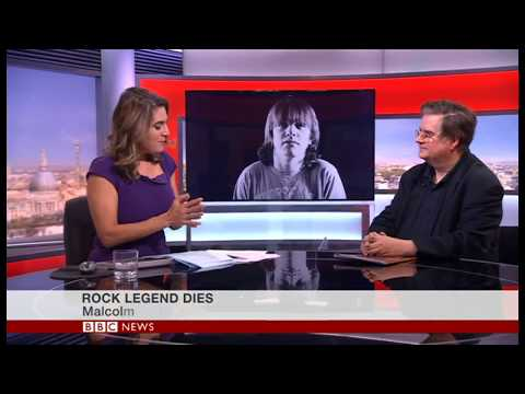 Farewell to AC/DC's Malcolm Young - Mark Beech on BBC World News TV