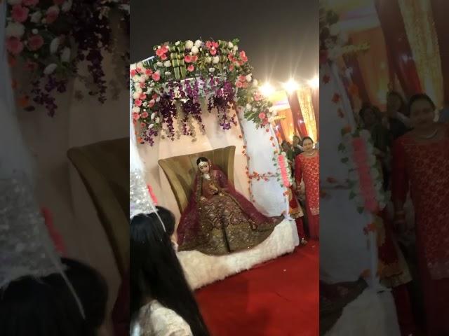 Beautiful Bride Entry in Lockdown #shorts