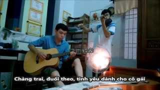 "[Cover] ""Ừ THÌ"" - Guitar ft Violin - Lyrics"