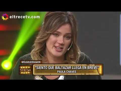 Paula Chaves se despidió lagrimeando de Este es el Show