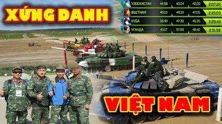 Việt Nam Đoạt Huy Chương Bạc Tại Giải Đua Xe Tăng Thế GiớI