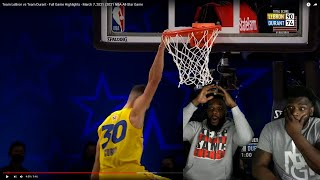 WOW!! Team LeBron vs Team Durant - Full Game Highlights - March 7, 2021 | 2021 NBA All-Star Game