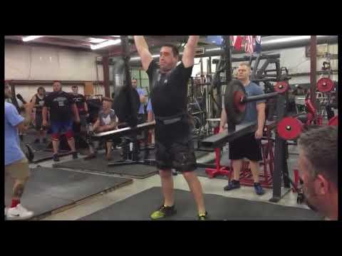 Yoke Press For Reps In 1 Minute At Brute Strength Strongman
