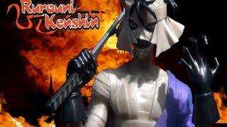RUROUNI KENSHIN:  FIGUARTS ZERO MAKOTO SHISHIO BY BANDAI