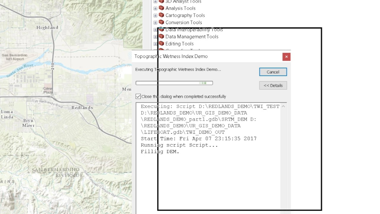 Installing the Topographic Wetness Index Python Script into an ArcGIS  Toolbox