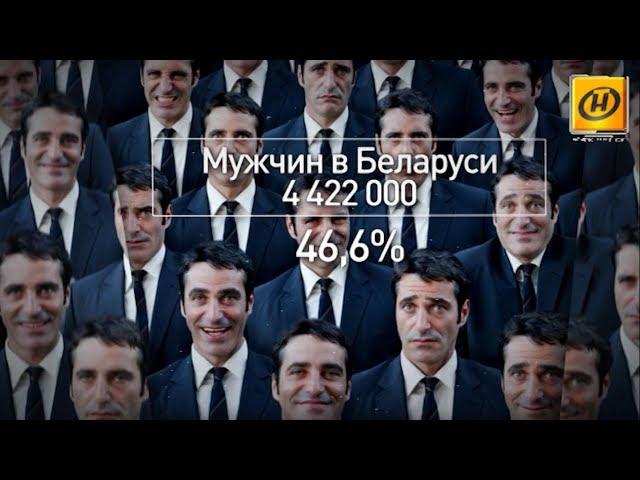 """""""Наше утро"""": кто они - белорусские мужчины? Немного статистики."""