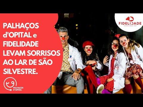 Palhaços d'Opital | PdO e FIDELIDADE levam SORRISOS ao Lar de São Silvestre.