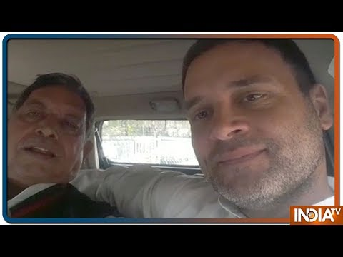 Rahul Gandhi takes injured journalist to hospital, video goes viral