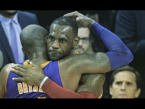 Lebron Says Goodbye to Kobe and Hello to Russell