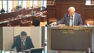 PSPČR 2018-05-31 09:20 S13/13 - Pořad schůze (Novičok)