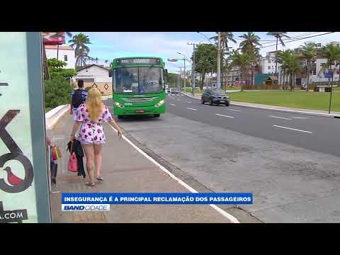 Insegurança é a principal reclamação dos passageiros de ônibus
