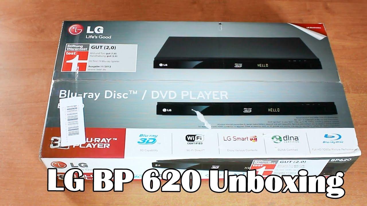 Driver: LG BP620 Blu-ray Player