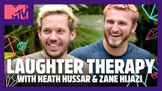 Trying Laughter Therapy w/ Zane and Heath 😂 | Spencer Pratt Will Heal You 🔮| MTV Video