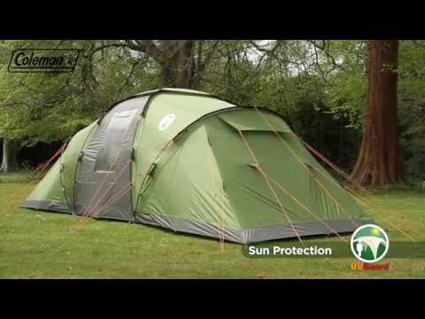 339 & How to set up a 6 man tent - YouTube