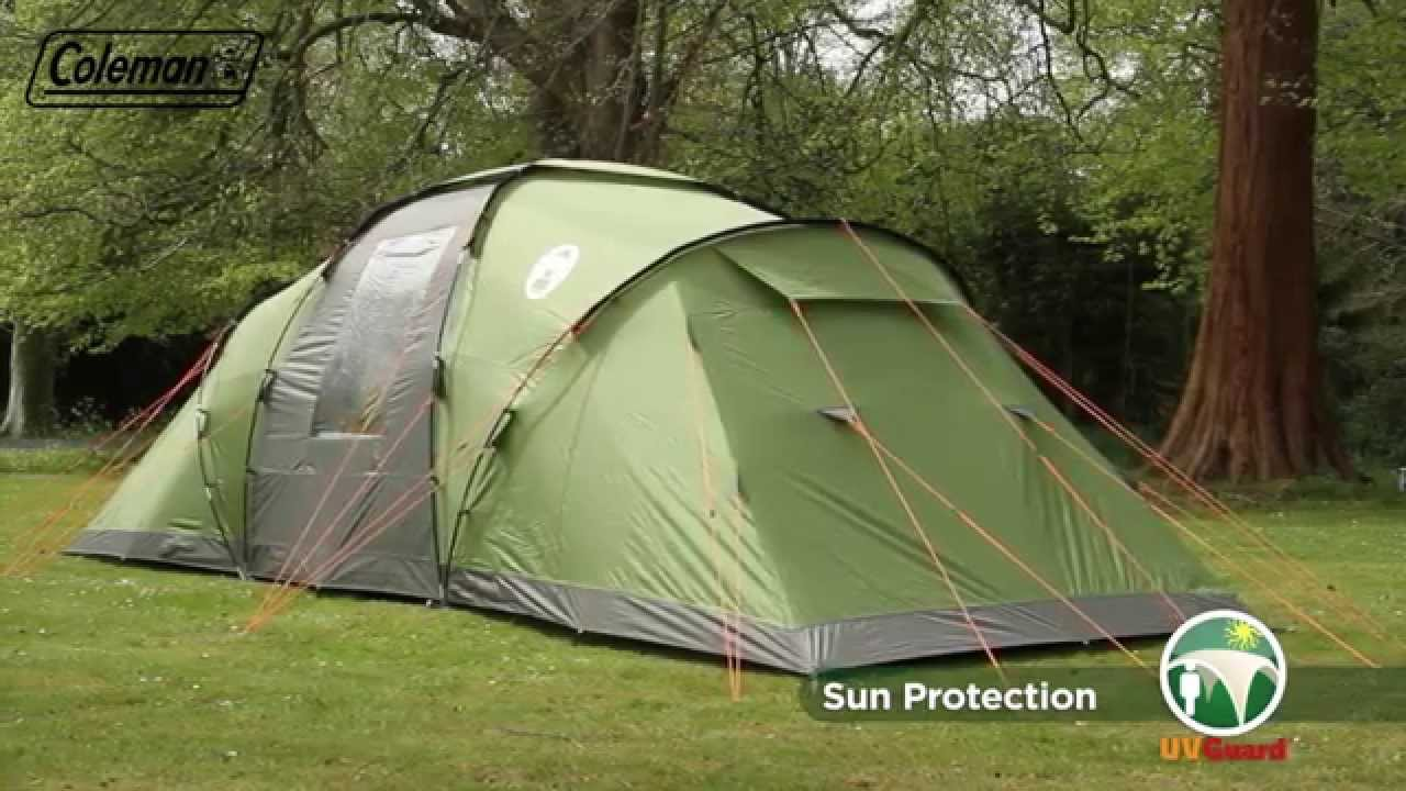 & Coleman® Bering 6 - Six person Family Camping Tent - EN - YouTube
