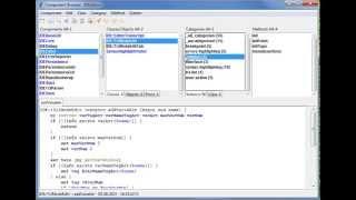 temel kod düzenleme TCK odaklı nesne için 1 tclsqueak Eğitimi Bölümü - IDE -