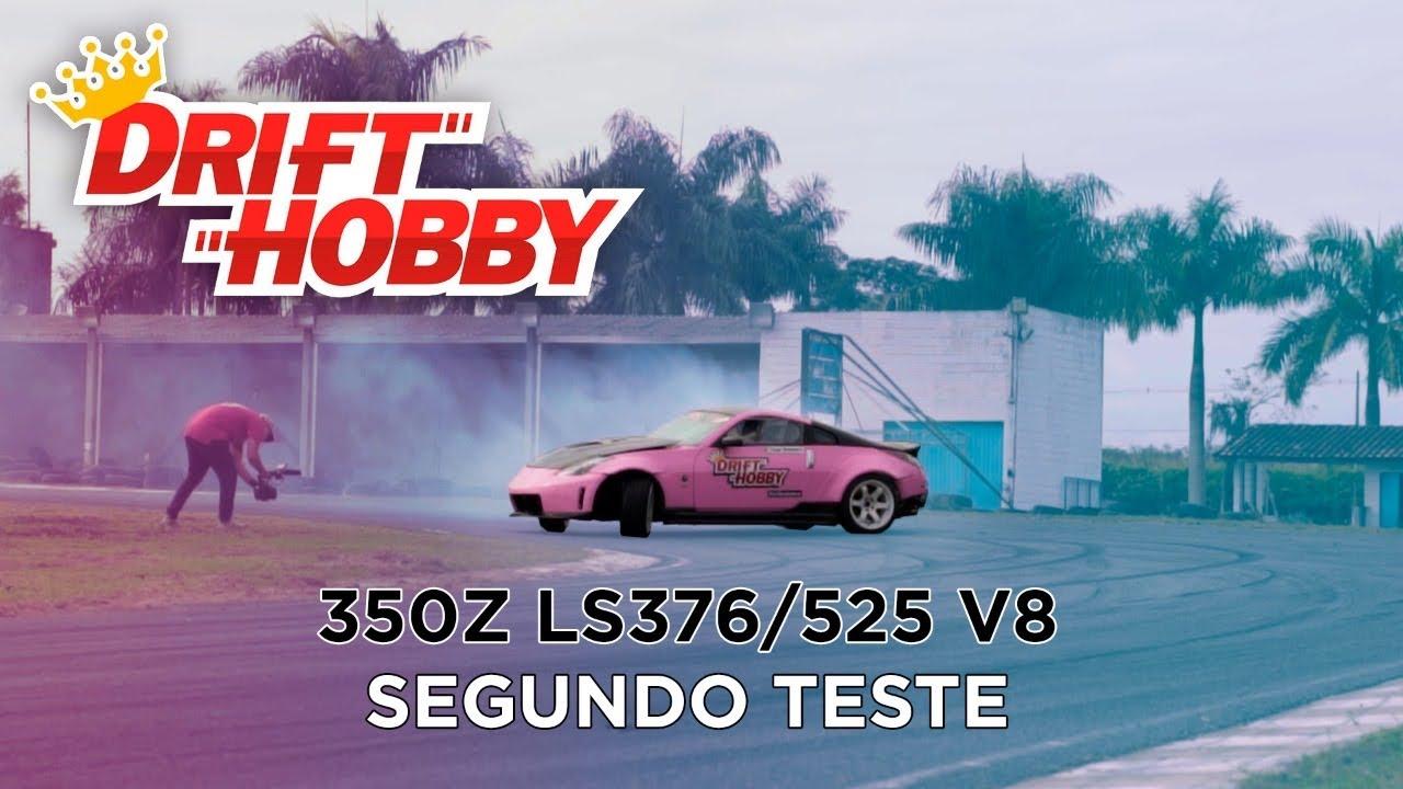 Drift Hobby - Tiago Romano - Segundo Teste 350Z V8