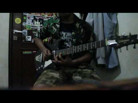 circle cloud-KU KIBARKAN BENDERA PERSIJA ,COVER GUITAR